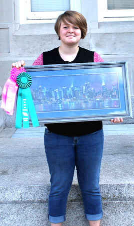 "People's Choice Winner Marie Dickison, ""New York City Skyline""<br /> Leedy Trophy Center's Choice, Taylor Burris, is not pictured."