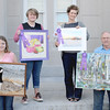 "Best of Show winners<br /> Best of Show Child Division Winner, Sarah Huse, ""The Goose""<br /> Best of Show Student Division Winner, Marie Dickison, ""Strawberry lemonade cupcakes""<br /> Best of Show Adult Division Winner, Rachael Malicoat, ""Sunset, Putnam County Barn""<br /> Best of Show Adult Division Winner, John Scott, ""The 1st of 1"""