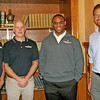 Rod Rose The Lebanon Reporter<br /> NEW DIRECTORS: Boone County Chamber of Commerce directors elected at the organization's annual business meeting Tuesday are (from left) Bob Clampitt, to a three-year term,Corrie McConnell, a three-year term, Spenser Rohler, a two-year term and Joe LePage, a three-year term. Not pictured are Norb Stansky and Mandy Saucerman, both elected to three-year terms.