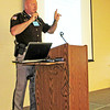 Rod Rose The Lebanon Reporter<br /> SYMPOSIUM SPEAKER: Sheriff Mike Nielsen was one of several speakers at the Boone County Substance Abuse Task Force's symposium held at the Boone County 4-H Fairgrounds.