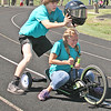 TRIKE TRIUMPH<br /> Elizabeth Pearl | The Lebanon Reporter<br /> THREE-WHEELED SUCCESS: Homecoming week at Lebanon High School opened this week with the annual 499+1 Trike Race at the football stadium. The homecoming festivities will continue through Friday. The events include the powder puff football game tonight at 7 p.m. and a parade on Friday at 5 p.m. The homecoming dance will take place in the LHS gym at 7:30 p.m. on Saturday.