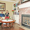 HOME TOUR: Terry and Susan Engledow in the front room of their recently constructed home.
