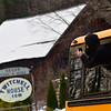 KRISTOPHER RADDER — BRATTLEBORO REFORMER<br /> A student takes a photo of the crash from outside the second bus's window.