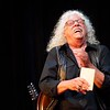 BEN GARVER — THE BERKSHIRE EAGLE<br /> Arlo Guthrie laughs during a chat with the audience during Shenandoah Concert at the Guthrie Center in Great Barrington.  Shenandoah, in various forms through the years, has been playing with Guthrie since 1975.