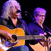 BEN GARVER — THE BERKSHIRE EAGLE<br /> Arlo Guthrie joins Shenandoah during a Shenandoah Concert at the Guthrie Center in Great Barrington. David Grover can be seen in the background.  Shenandoah, in various forms through the years, has been playing with Guthrie since 1975.