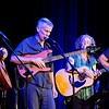 BEN GARVER — THE BERKSHIRE EAGLE<br /> Members of Shenandoah, David Grover, Robert Putnam, Carol Ide and Steve Ide perform at the Guthrie Center in Great Barrington. Not pictured are Terry A La Berry on Drums and Abe Guthrie on Keyboards.