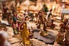A closeup of several of the Fontanini creche collection figures in Squires' collection; KELLY FLETCHER, REFORMER CORRESPONDENT