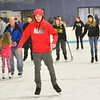 KRISTOPHER RADDER — BRATTLEBORO REFORMER<br /> People head to the Nelson Withington Skating Facility for free ice skating during Last Night Brattleboro on Tuesday, Dec. 31, 2019.