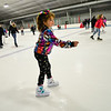 KRISTOPHER RADDER — BRATTLEBORO REFORMER<br /> Chloe Theriault, 8, of Brattleboro, skates at Nelson Withington Skating Facility during Last Night Brattleboro on Tuesday, Dec. 31, 2019.