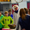 KRISTOPHER RADDER - BRATTLEBORO REFORMER<br /> Experiment with Bernoulli's principle, Dr. Quinton Quark removes the air from a container and have a group students play tug-of-war to try to open the object.
