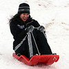 "Danielle Slusher takes off down the hill for a day of sledding near Sunset Middle School on Sunday Feb. 24, 2013.<br /> For more photos sledding, go to  <a href=""http://www.timescall.com"">http://www.timescall.com</a>.<br /> Cliff Grassmick / February 24, 2013"