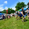 KRISTOPHER RADDER - BRATTLEBORO REFORMER<br /> People fill up the Brattleboro Commons and the Retreat Lawn for the Slow Living Expo as part of the Strolling of the Heifers weekend on Saturday, June 2, 2018.