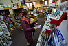 Chandra Poston and her son Leo browse around Village Square Booksellers in Bellows Falls, Vt. on Tuesday, Nov. 22, 2016. Kristopher Radder / Reformer Staff