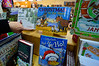 Pat Fowler, owner of the Village Square Booksellers in Bellows Falls, Vt., and neighborhood coordinator of Small Business Saturday, holds some of the children's books she will have on sale.Tuesday, Nov. 22, 2016. Kristopher Radder / Reformer Staff