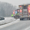 "BRATTLEBORO — The Brattleboro Fire Department and Vermont State Troopers closed down a lane on I-91 northbound as they responded a motor vehicle accident around 10:30 a.m. on Thursday. <br /> <br /> As the snow starts to cover the roads, Steve Barrett, director of the Brattleboro Public Works, said ""The Department of Public Works has all their crews out, and we urge motorist to reduce speed, and make sure you are careful at all intersections.""<br /> Additional information on the accident was not immediately available. But the car did spin out of control and came to rest in the median.<br /> Today's storm is expected to dump a foot or more of snow in the region, according to the National Weather Service. Snow could fall one inch per hour this afternoon and evening, making for dangerous driving conditions and poor visibility."