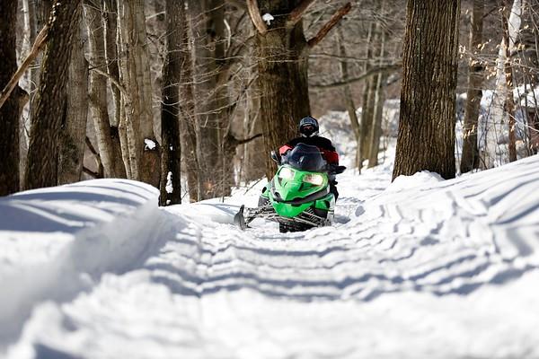 Snowmobiling at Mt. Greylock-031918