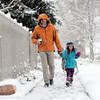 APRIL 9 SNOW BOULDER COLORADO