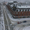 KRISTOPHER RADDER - BRATTLEBORO REFORMER<br /> A blanket of snow covers Brattleboro as a major winter storm pushes through the area on Tuesday, Dec. 12, 2017.