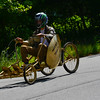 KRISTOPHER RADDER - BRATTLEBORO REFORMER<br /> Cade Glover-Wellovich races down John Seitz Drive on Sunday, Aug. 27, 2017.