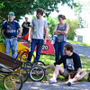KRISTOPHER RADDER - BRATTLEBORO REFORMER<br /> Racers put their soapbox derby cars to the test as they compete at John Seitz Drive on Sunday, Aug. 27, 2017.