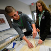 KRISTOPHER RADDER — BRATTLEBORO REFORMER<br /> Sophomores from around the area participate in the Sophomore Summit at S.I.T. on Wednesday, April 10, 2019.