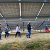 KRISTOPHER RADDER — BRATTLEBORO REFORMER<br /> Students get a tour of the solar farm at S.I.T. during the Sophomore Summit at S.I.T. on Wednesday, April 10, 2019.