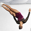 13-year-old Kailee Doss flies through the air while practicing on the mini-trampoline on Wednesday at The Flip Shop. Doss has been involved in gymnastics for about two years.<br /> Globe | Laurie Sisk