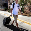 "Andrew Morrisett returns from Florida after spending spring break with friends on Sunday, April 1, 2012. Boulder. <br />  For more photos of the game visit  <a href=""http://www.dailycamera.com"">http://www.dailycamera.com</a><br /> Photo by Derek Broussard"
