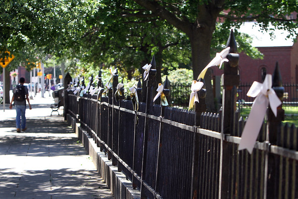 St Anne's Church ribbons for Orlando 061416