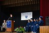 Father James Dodson addresses graduates during his keynote speech on Friday, June 14; KELLY FLETCHER, REFORMER CORRESPONDENT.