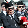 "Centennial State Pipes & Drums members play the bagpipes during the 2011 St. Patricks Day Parade on 13th Street in Boulder. For more photos and video of the event go to  <a href=""http://www.dailycamera.com"">http://www.dailycamera.com</a><br /> Jeremy Papasso/ Camera"