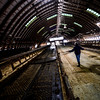 KRISTOPHER RADDER - BRATTLEBORO REFORMER<br /> A new section of dairy barn that was constructed last year Stoneholm Farm, now sits empty on Wednesday, Feb. 14, 2018.