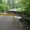 Gillian Jones/North Adams Transcript<br /> The condition of Treadwell Hollow Road in Williamstown on Thursday morning after a strong storm brought heavy rain to the region on Wednesday night.