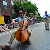 KRISTOPHER RADDER - BRATTLEBORO REFORMER<br /> Thousands of people lined up on Main Street for the annual Strolling of the Heifers Parade on Saturday, June 2, 2018.