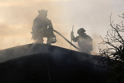 Structure Fire on G Street, Eureka