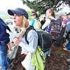 15EP Flood Young Evacuees.jpg Staff of the Wind River Ranch await places to stay after evacuation from the ranch. The staff was placed with individual families in Estes Park.