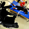 20111212-TylerHoog26.jpg.jpg Tyler Hoog lays on a mat as Kelly White, an exercise specialist at the Shepherd Spinal Center in Atlanta, GA, stretches his arms and legs during a therapy session on Monday, December 12, 2011. The Skyline High School baseball player became paralyzed after a four wheeling accident in August.   (Jonathan Phillips Special to the Boulder Daily Camera)