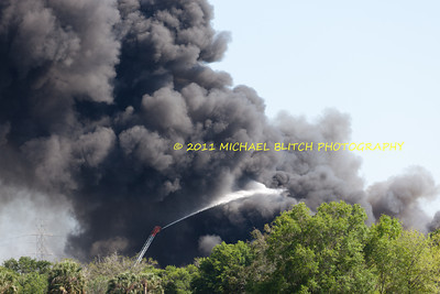 [Filename: tampa wharehouse fire-35.jpg]   Copyright 2011 - Michael Blitch Photography