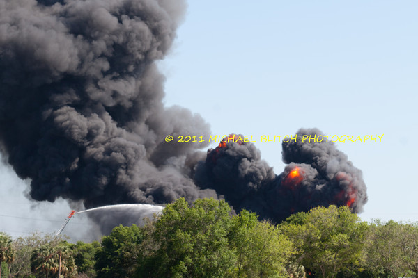 [Filename: tampa wharehouse fire-23.jpg] <br />  Copyright 2011 - Michael Blitch Photography