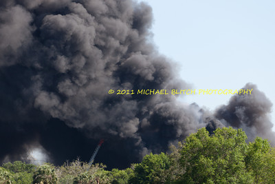 [Filename: tampa wharehouse fire-40.jpg]   Copyright 2011 - Michael Blitch Photography