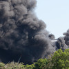 [Filename: tampa wharehouse fire-41.jpg] <br />  Copyright 2011 - Michael Blitch Photography