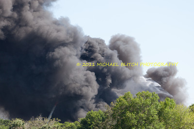 [Filename: tampa wharehouse fire-43.jpg]   Copyright 2011 - Michael Blitch Photography