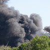[Filename: tampa wharehouse fire-43.jpg] <br />  Copyright 2011 - Michael Blitch Photography