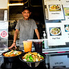 KRISTOPHER RADDER — BRATTLEBORO REFORMER<br /> Noulieng Keopraseuth, the owner of the food truck Taste of Thai, celebrates 10 years of operation.
