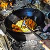 KRISTOPHER RADDER — BRATTLEBORO REFORMER<br /> Steam comes up as Noulieng Keopraseuth, the owner of the food truck Taste of Thai, cooks drunken noodles on Monday, July 30, 2019.