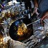 KRISTOPHER RADDER — BRATTLEBORO REFORMER<br /> Noulieng Keopraseuth, the owner of the food truck Taste of Thai, cooks various dishes inside his food truck as temperatures start to rise on Tuesday, July 30, 2019.