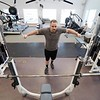 BEN GARVER – THE BERKSHIRE EAGLE<br /> Chris Paoloni work out at Lenox Fit. Members of Lenox Fit and TK-Fit enjoy cross bebefits since bothe buisnesses operate under one roof.