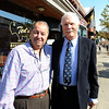 "Ted Turner poses with George Karakehian at Ted's Montana Grill. <br /> Ted Turner visited his restaurant in  Boulder on Friday to announce the start of  a buffalo ranch and receive an award.<br /> For a video and more photos of Ted Turner, go to  <a href=""http://www.dailycamera.com"">http://www.dailycamera.com</a>.<br /> Cliff Grassmick / October 28, 2011"