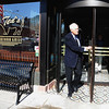 "Ted Turner leaves Ted's Montana Grill after a meeting with officials about the bison and prairie dog preserve.<br /> Ted Turner visited his restaurant in  Boulder on Friday to announce the start of  a buffalo ranch and receive an award.<br /> For a video and more photos of Ted Turner, go to  <a href=""http://www.dailycamera.com"">http://www.dailycamera.com</a>.<br /> Cliff Grassmick / October 28, 2011"