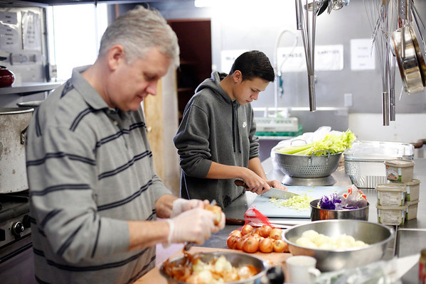 Thanksgiving Supper at The Christian Center-112416